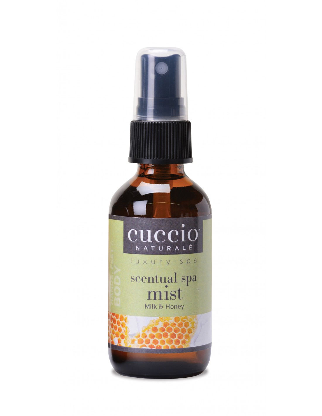 Elixir Cuccio - Scentual SPA Mist - Milk and Honey - 60ml - CNSP1002