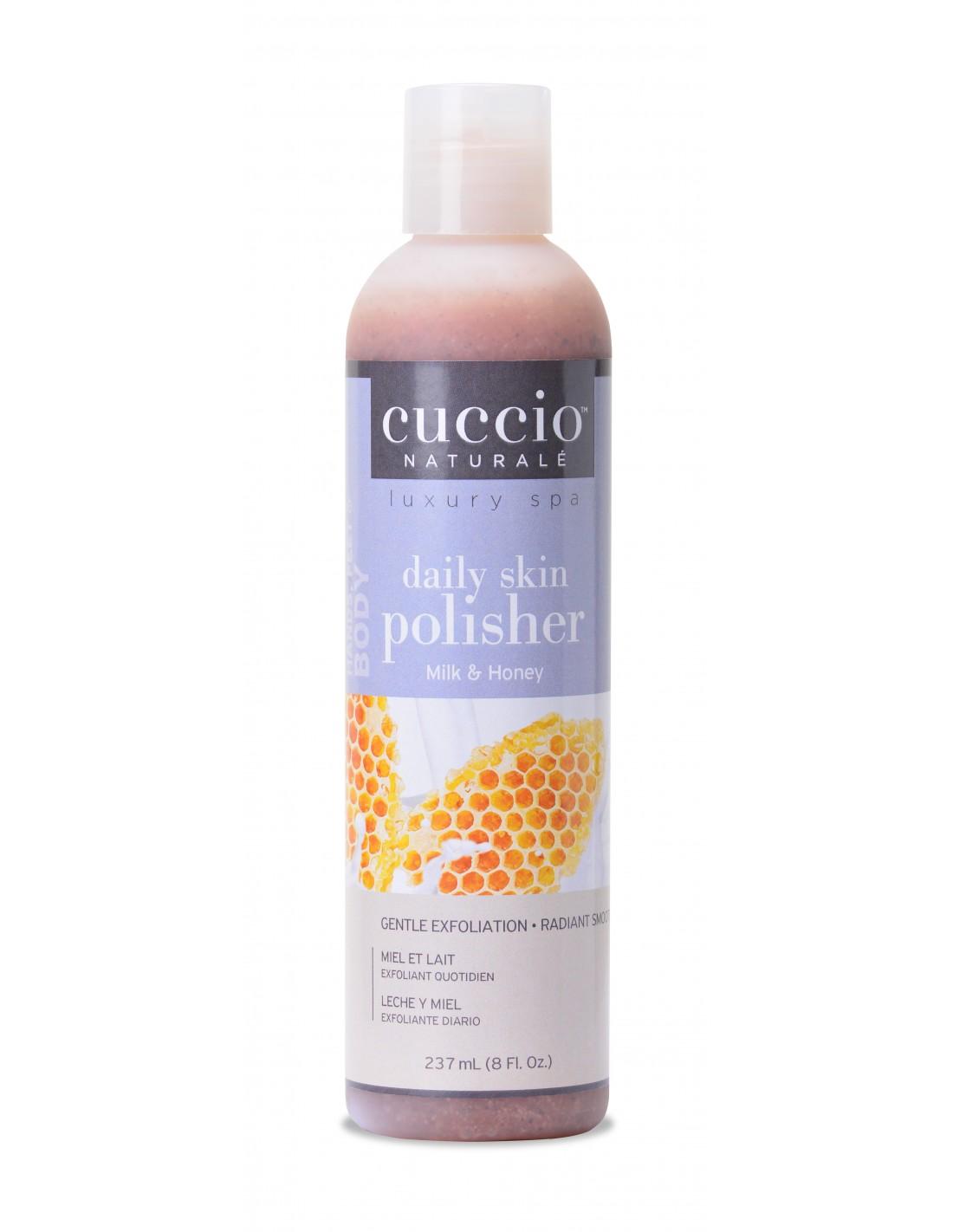 Esfoliante Cuccio - Daily Skin Polisher  - Milk and Honey - 237ml - CNSC3405