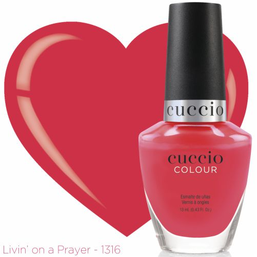 Esmalte Colour Cuccio - Livin On a Prayer - PL1316