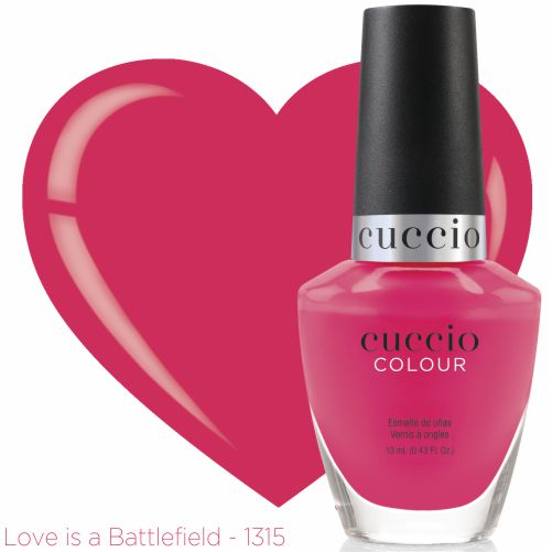 Esmalte Colour Cuccio - Love Is a Battlefield - PL1315