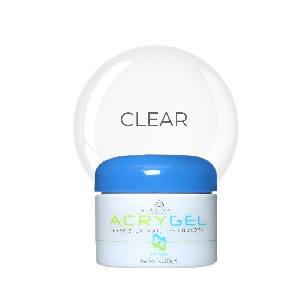 Gel Star Nail T3 Acrygel - Clear - 28g - 864