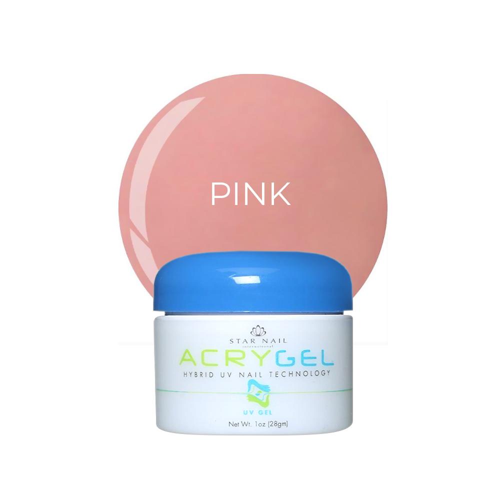 Gel Star Nail T3 Acrygel - Pink - 28g - 864-P