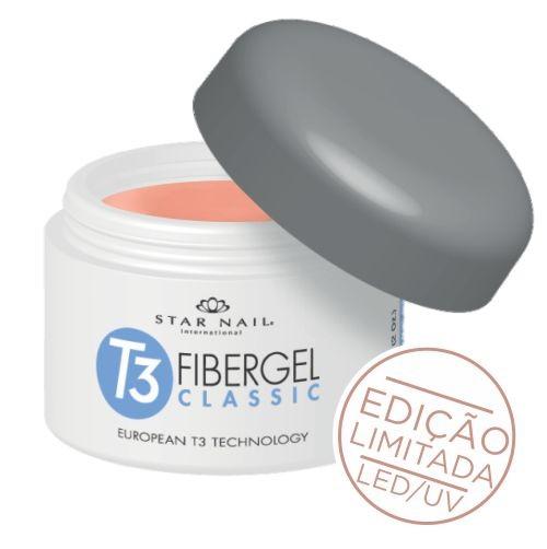 Gel Star Nail T3 Fibergel - - 28g - Brazilian Azaléia - 5559