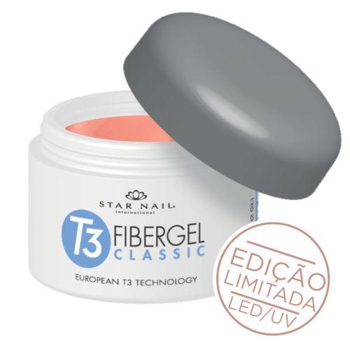 Gel Star Nail T3 Fibergel -  - 28g - Brazilian Lirio - 5519