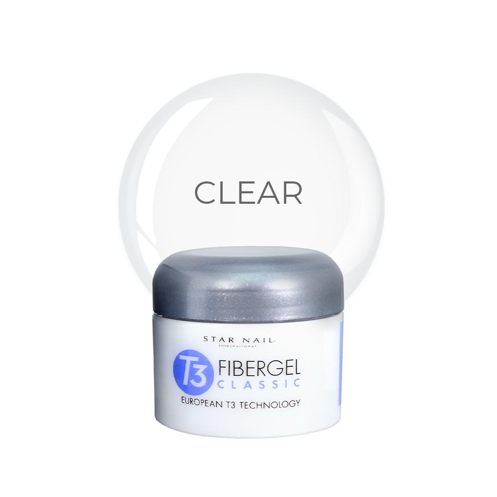 Gel Star Nail T3 Fibergel - Clear - 28g - 962