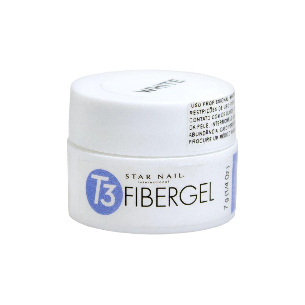 Gel Star Nail T3 Fibergel - White - 7g - 00010.8