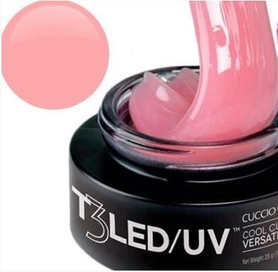 Gel T3 LED/UV Cuccio Pro - Controle Total - Opaque Blush Pink - 28g - 3562
