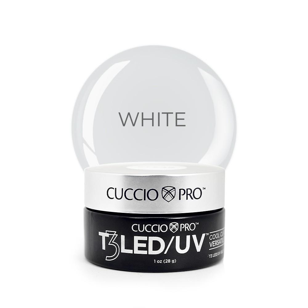 Gel T3 LED/UV Cuccio Pro - Controle Total - White - 28g - 6951
