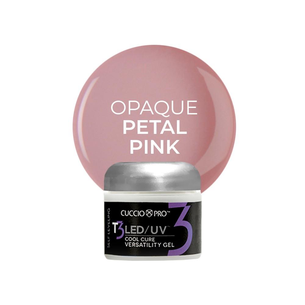 Gel T3 LED/UV  Self Leveling 28g - Cuccio Pro - OPAQUE PETAL PINK - 6939