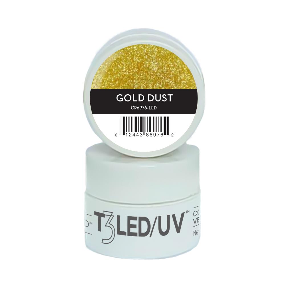 GEL - T3 SPARKLE LED/UV 7G - Gold Dust - 6976