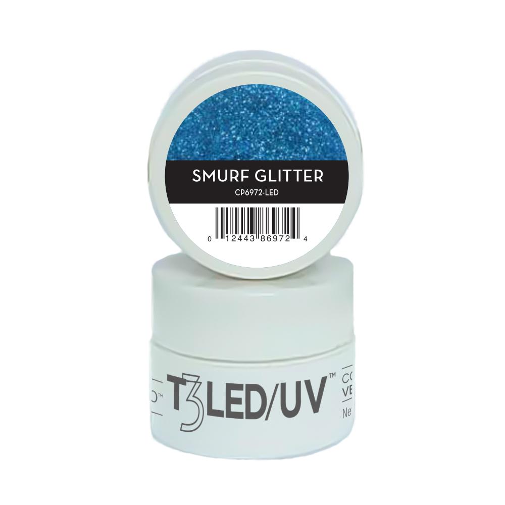 GEL - T3 SPARKLE LED/UV 7G - Smurf Glitter - 6972