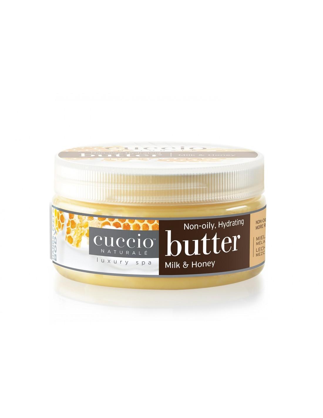 Hidratante Cuccio -  Butter Blend - Milk and Honey - 42g - CNSC1002