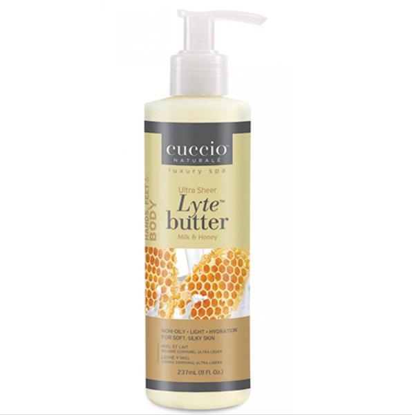 Hidratante Cuccio - Lyte Butter  - Milk and Honey - 237ml - CNSC2005