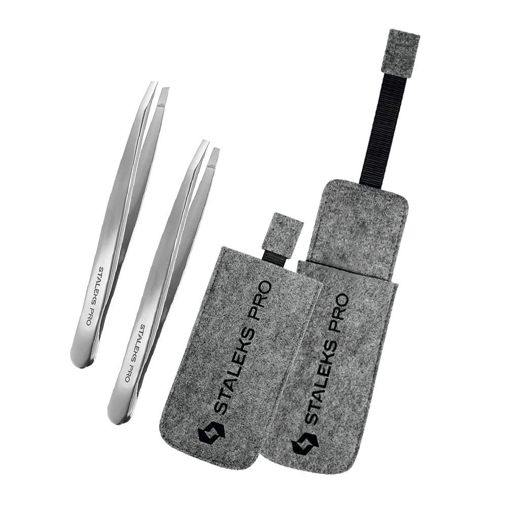 Kit Designer de Sobrancelhas Staleks Pro (TE-10-2 + TE-10-4 + CS-13)