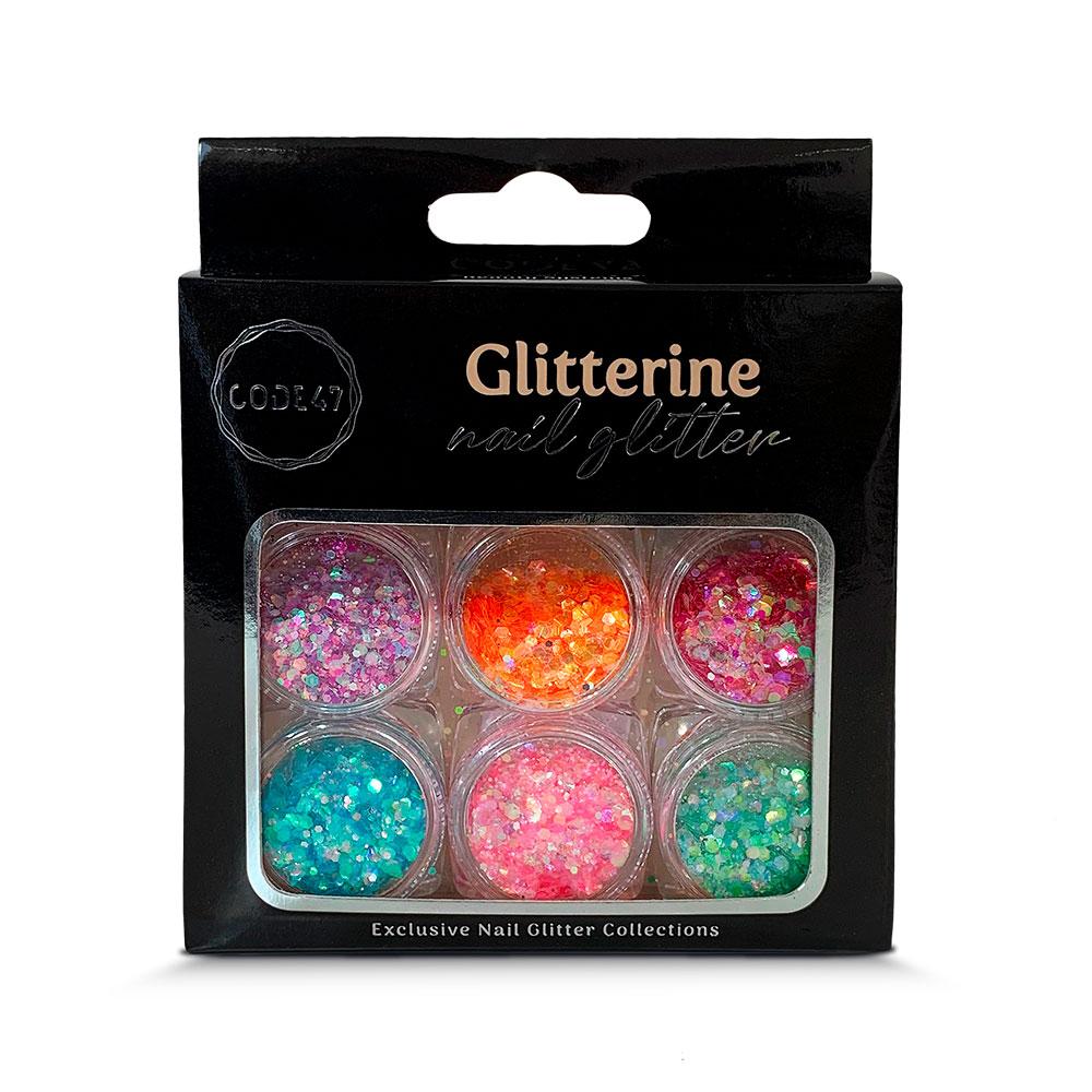 Kit Glitter - Code 47 - Glitterine - NG008