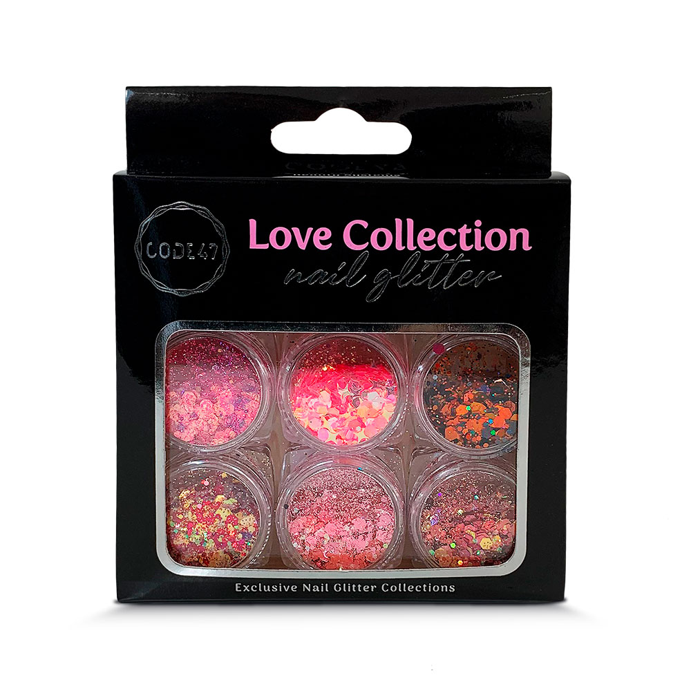 Kit Glitter - Code 47 - Love Collection - NG004