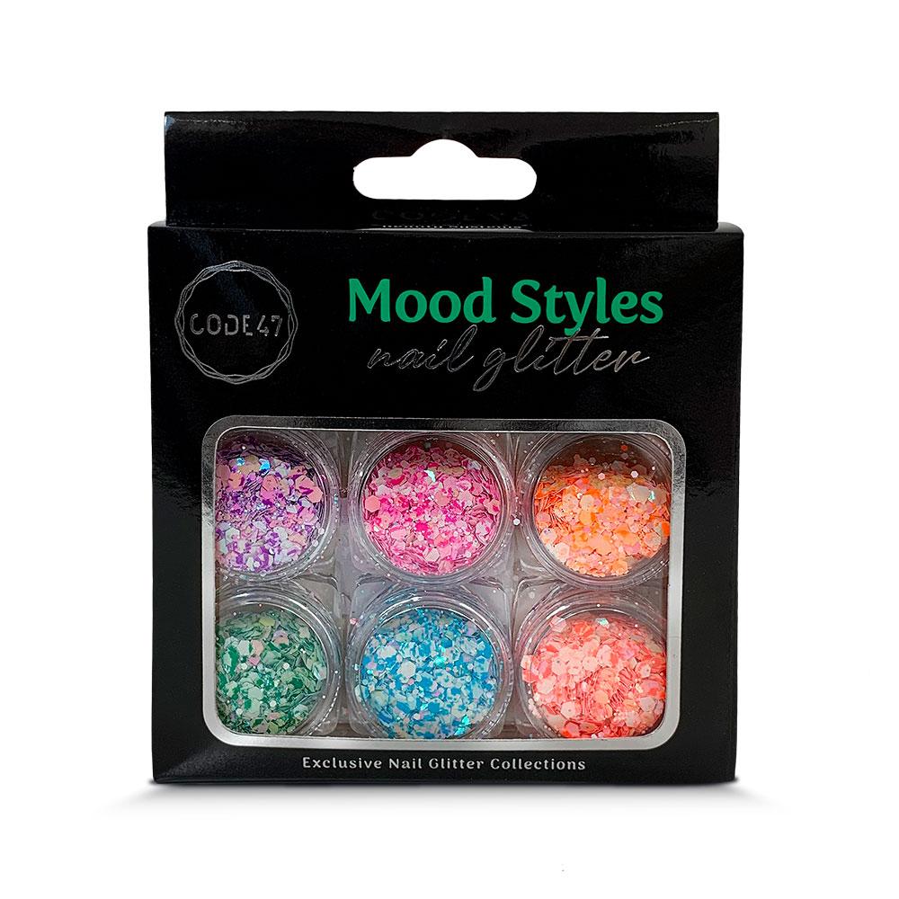 Kit Glitter - Code 47 - Mood Styles - NG007
