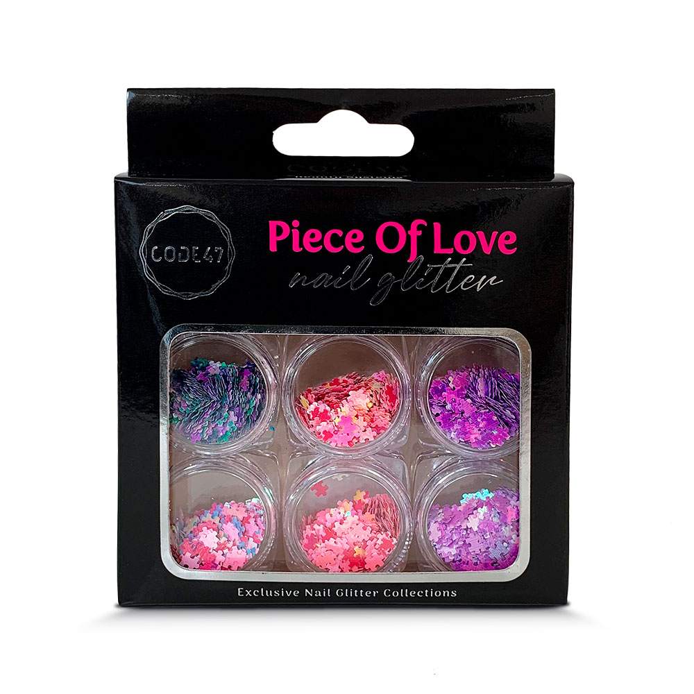 Kit Glitter - Code 47 - Piece Of Love - NG005