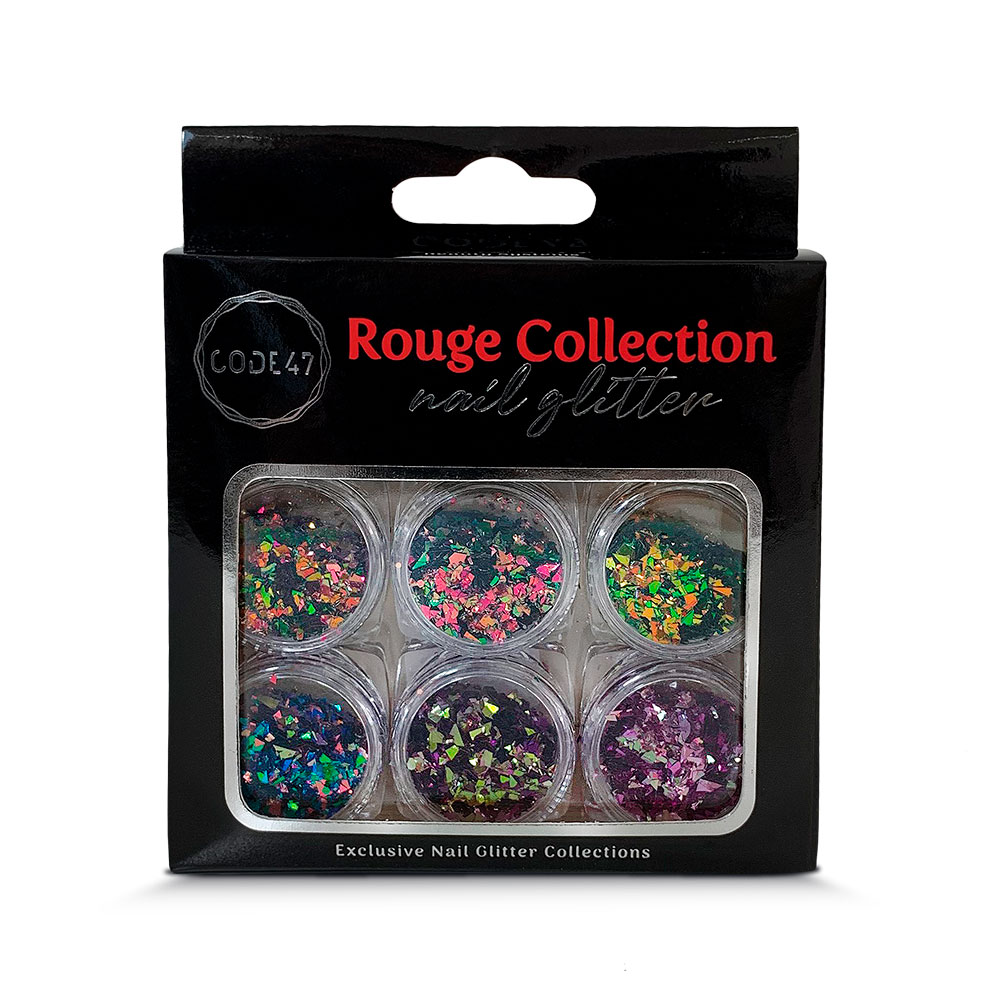 Kit Glitter - Code 47 - Rouge Collection - NG006
