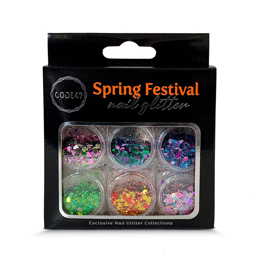 Kit Glitter - Code 47 - Spring Festival - NG001