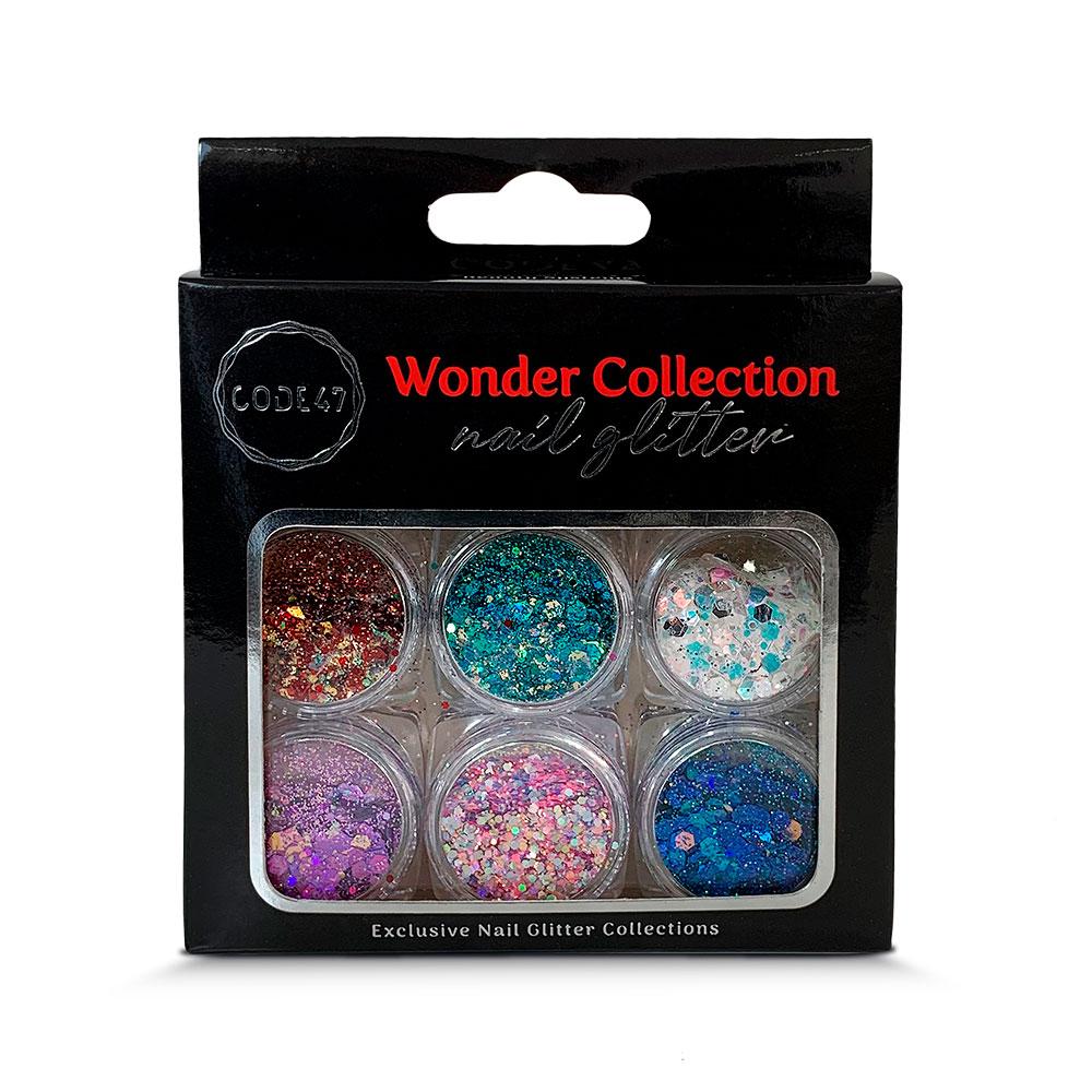 Kit Glitter - Code 47 - Wonder Collection - NG010