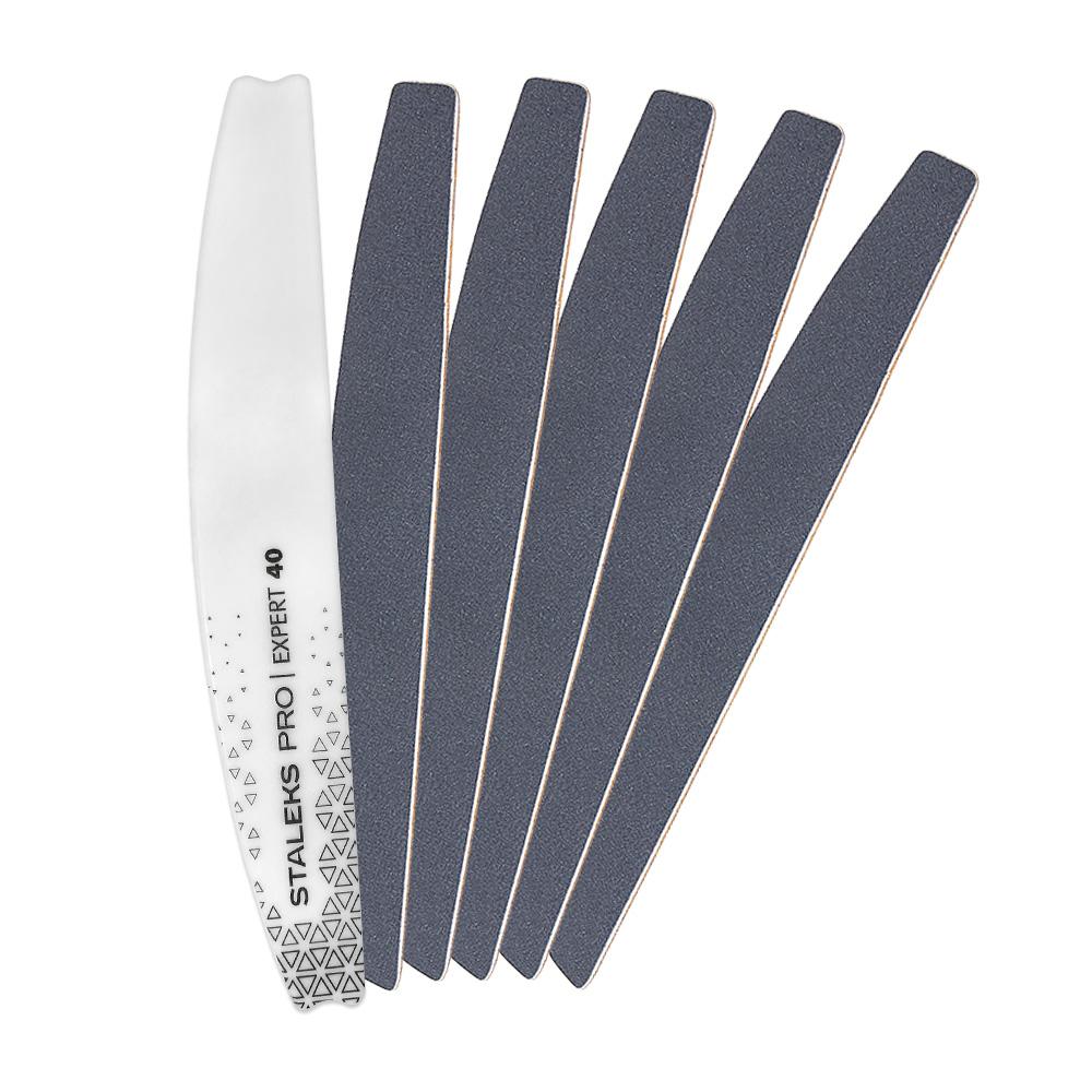 Kit Lixa Base Acrílica ABE-40 + Refil 30 Lixas DFE-40-240