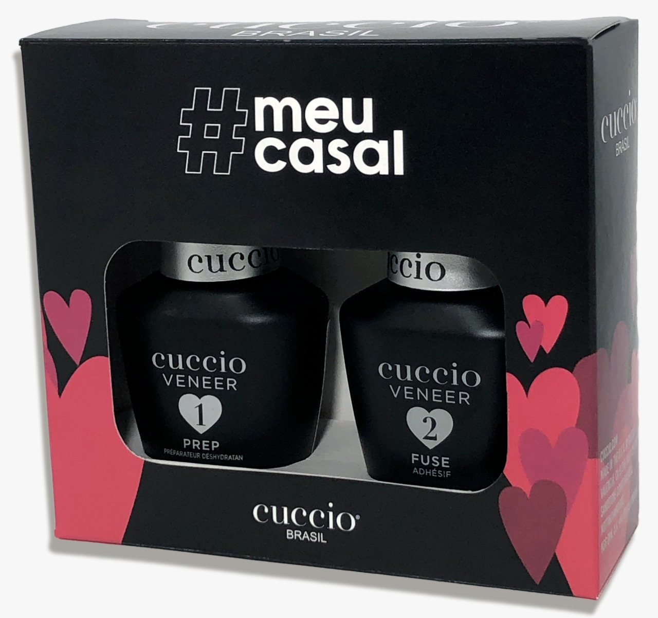 Kit Meu Casal Cuccio Pro (Prep 13ml + Fuse 13ml)