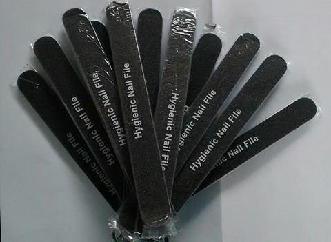 Lixa Hygienic Nail File - Flex Preta - CUCCIO - 74150