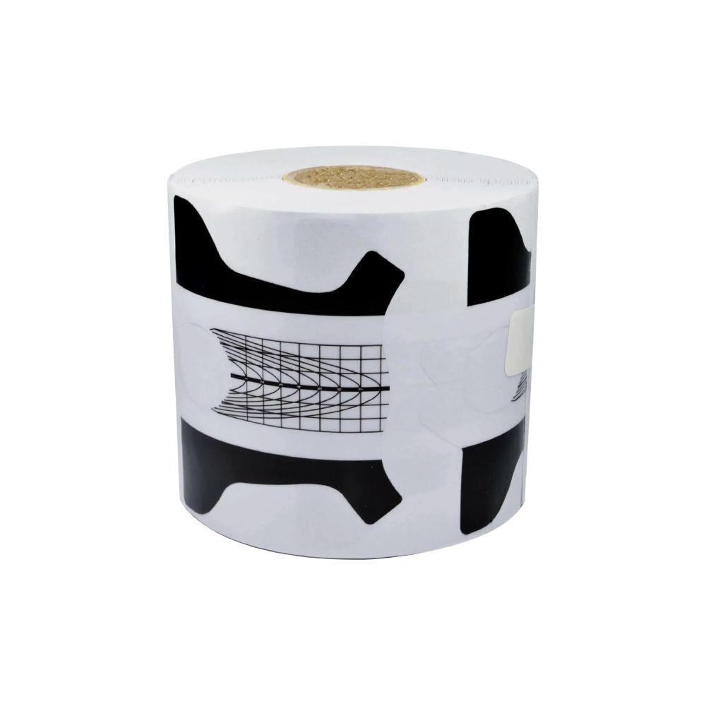 Molde para Alongamentos - BRANCO e PRETO - Plástico - 500 Unid. - 00151
