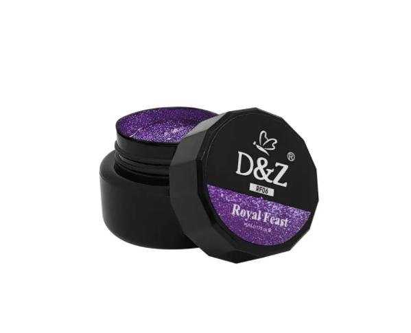 Pastine DeZ - Gel Acrílico 3D para Decoração - Roxo - 5g