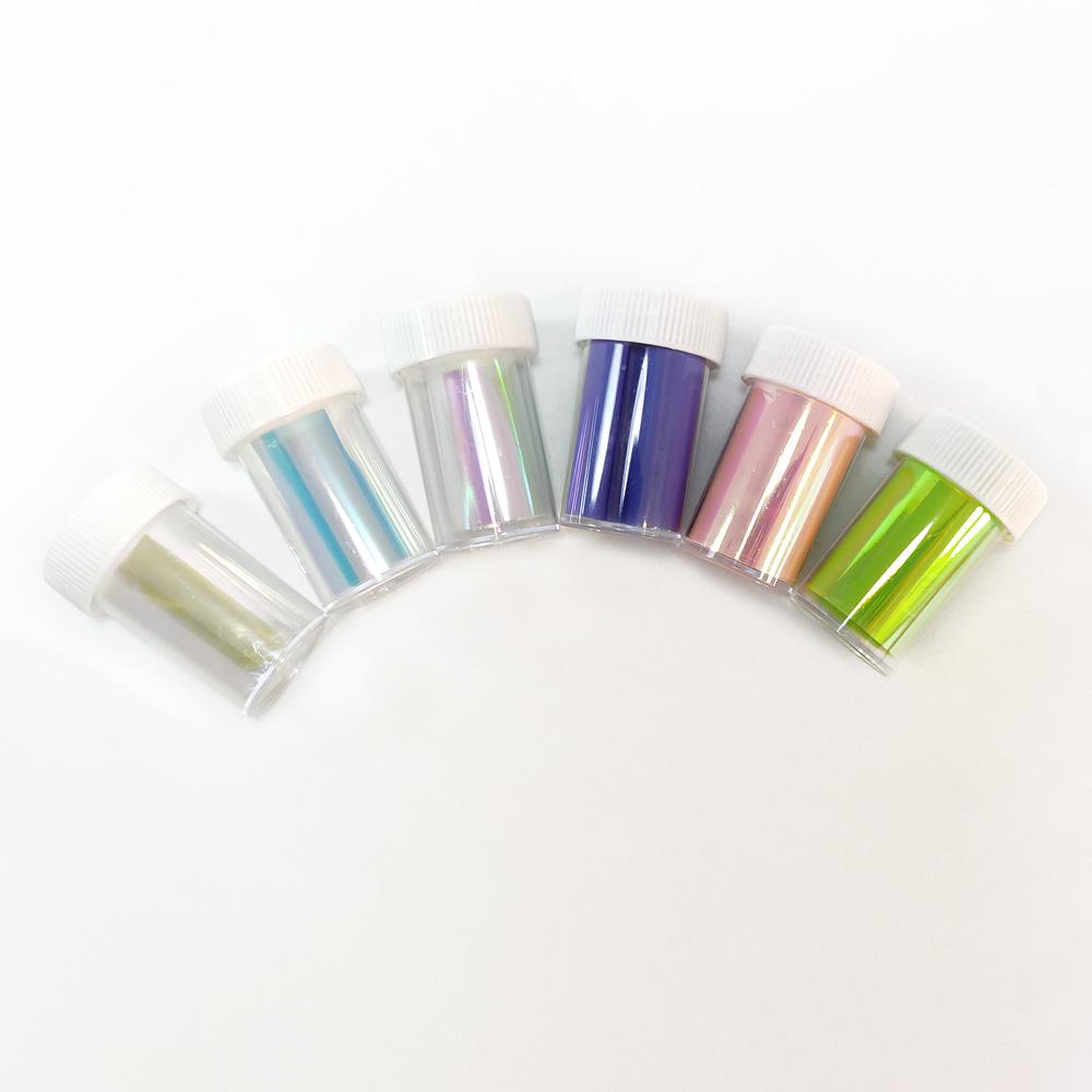 Película Aurora para Nail Art - 4cm x 100cm - BC-ND-X010N