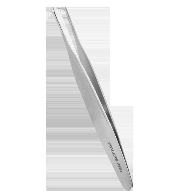 Pinça para Cílios Staleks Pro - Série Expert 40 - Curva- TE-40-2