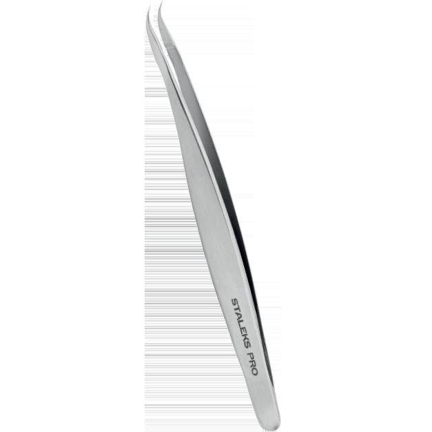 Pinça para Cílios Staleks Pro - Série Expert 41 - Curva - TE-41-3