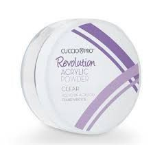 Pó Acrilíco Revolution Cuccio - CLEAR - 45g - 15005