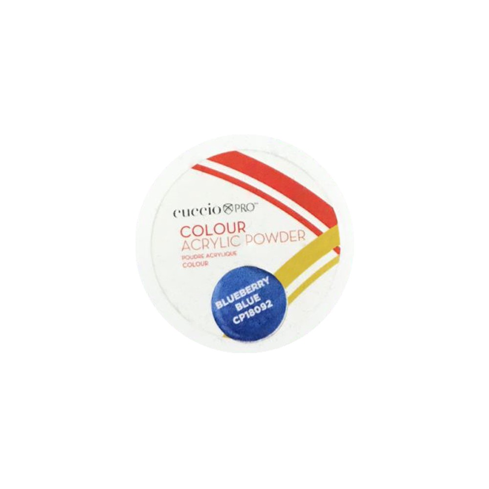 PÓ - ACRYLIC POWDER COLOURS 14G - Blueberry Blue - 18092