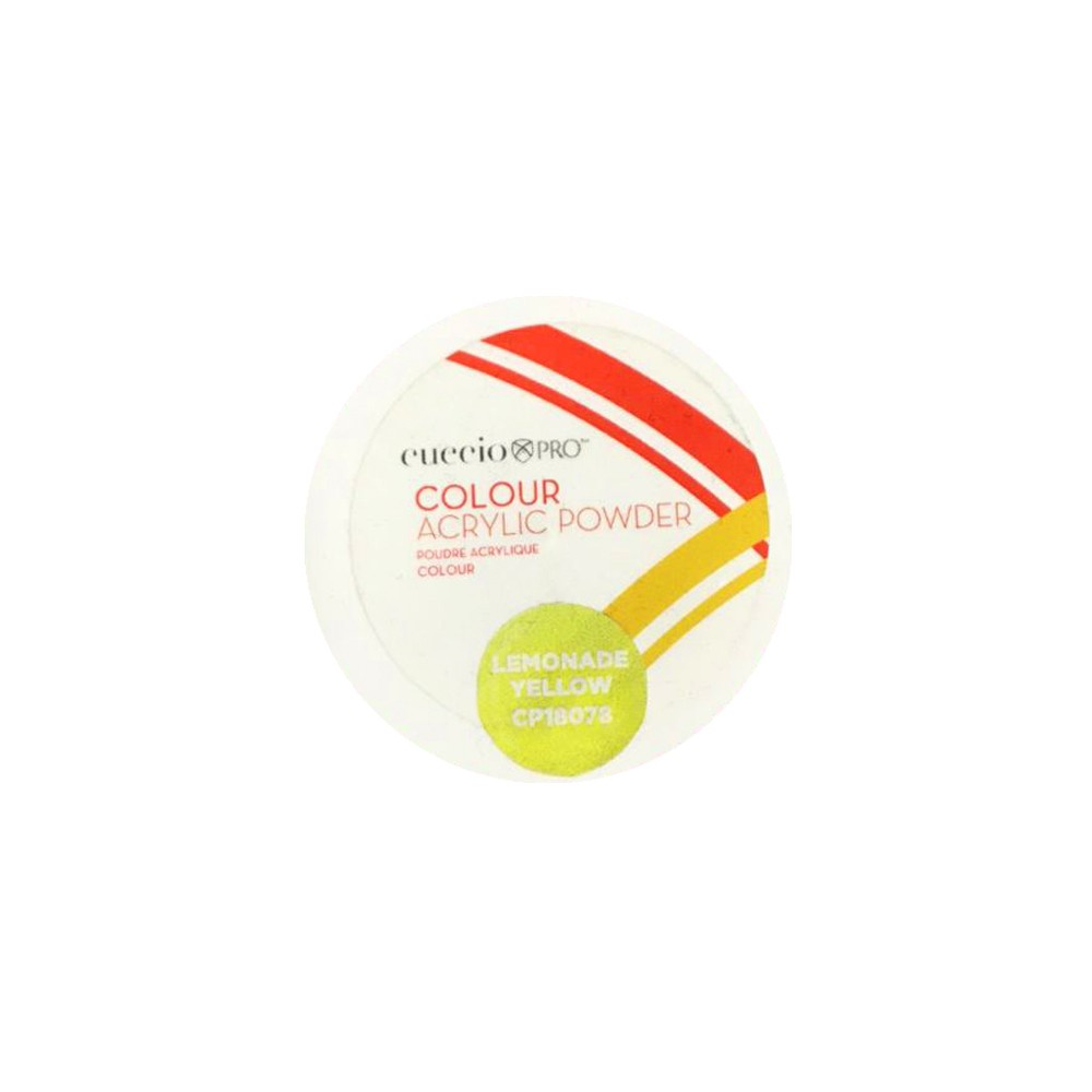 PÓ - ACRYLIC POWDER COLOURS 14G - Lemonade Yellow - 18078