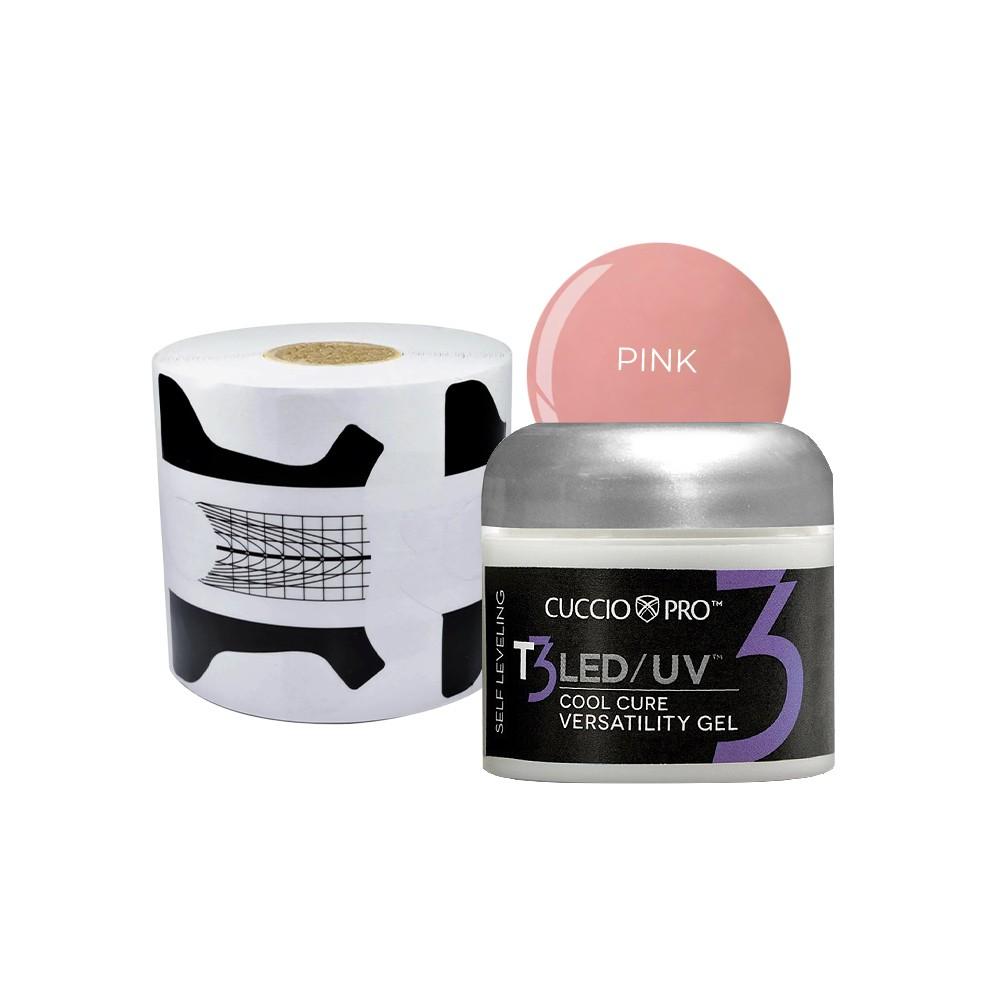 Selfleveling Pink 28g + Molde preto e branco(500 unidades)