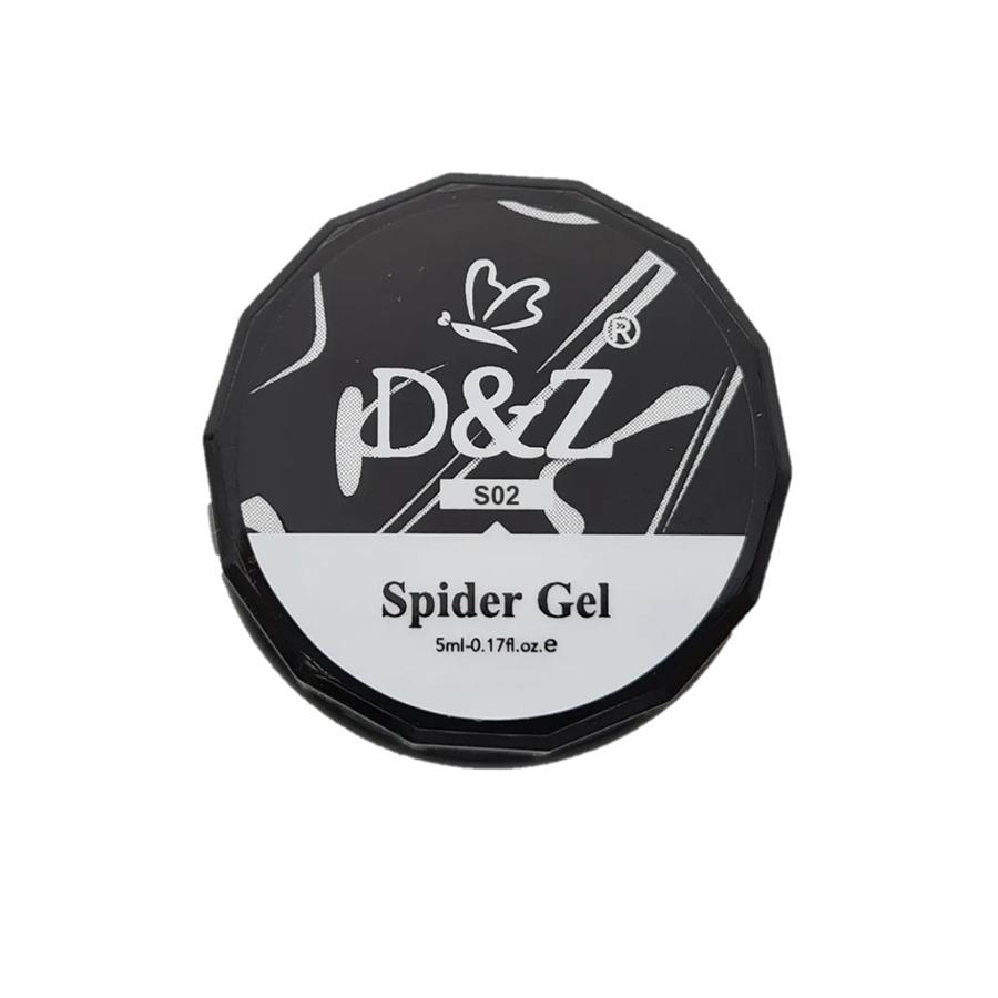 Spider Gel para Decoração -  DeZ - Black - 5g