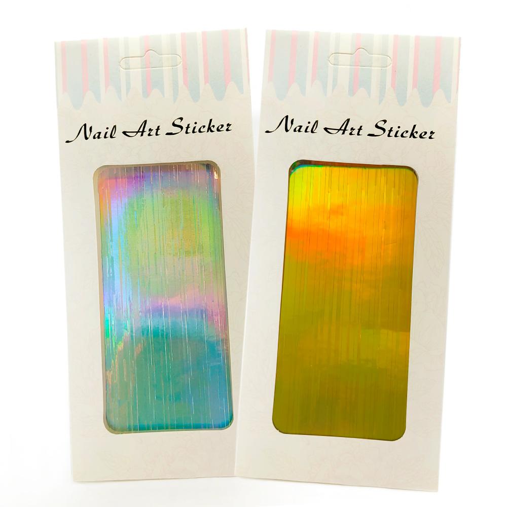 Tiras adesivas holográficas  - BC-ND-ST101