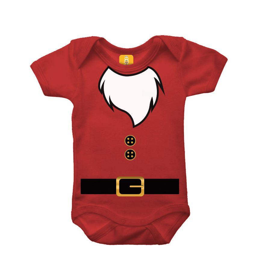Body bebê - Papai noel