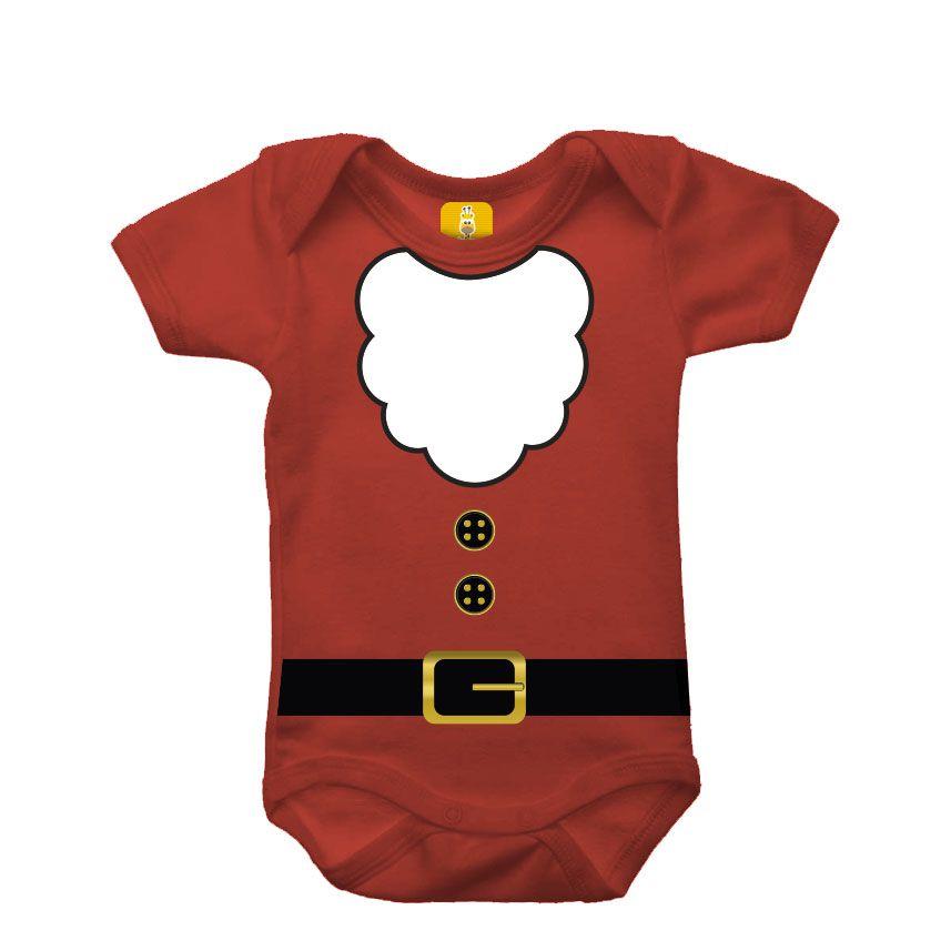 Body bebê - Papai noel 2