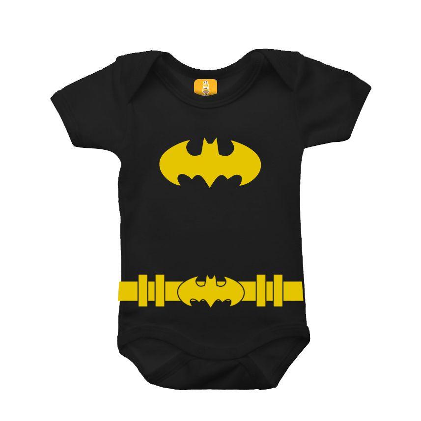 Body para bebê - Batman