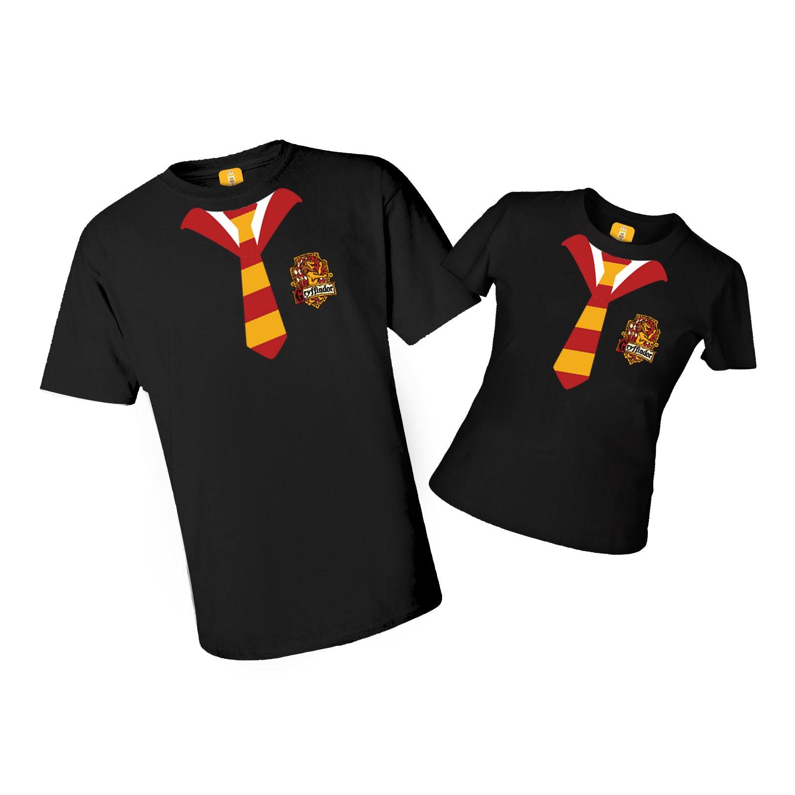 Camiseta adulta Harry Potter com 2 peças