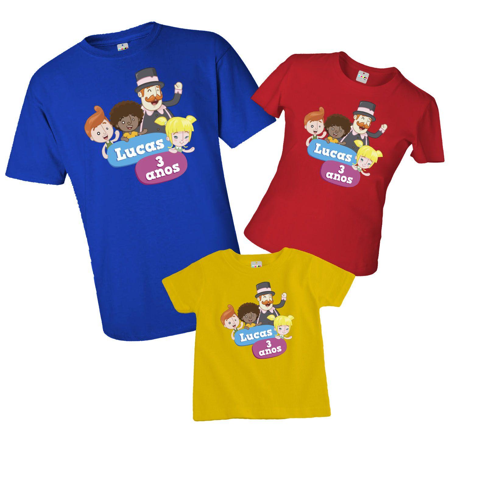 Camiseta e body aniversário do Mundo Bita