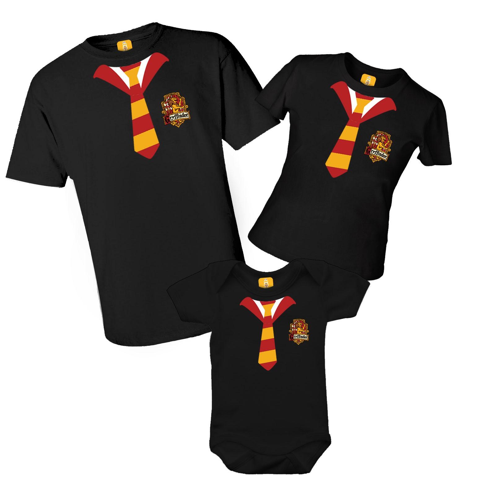 Camiseta Harry Potter com 3 peças