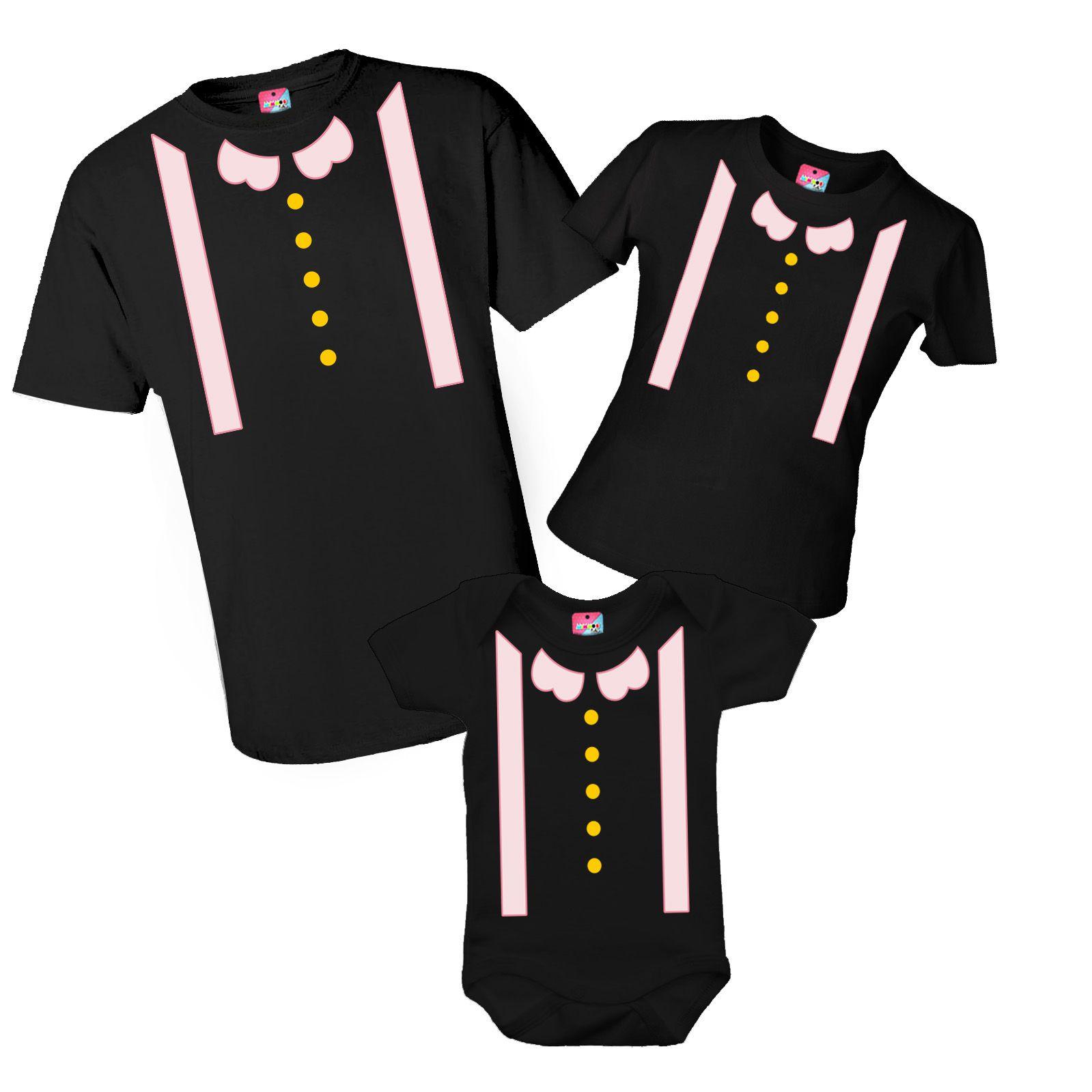 Kit camiseta e body aniversário - Mundo Bita preta
