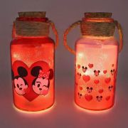 KIT C/2 LUMINARIAS MICKEY E MINNIE EMOJI