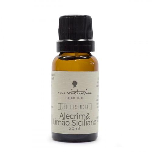 Essência Alecrim & Limão Siciliano