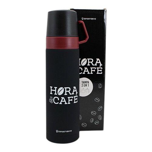GARRAFA COM XICARA HORA DO CAFÉ