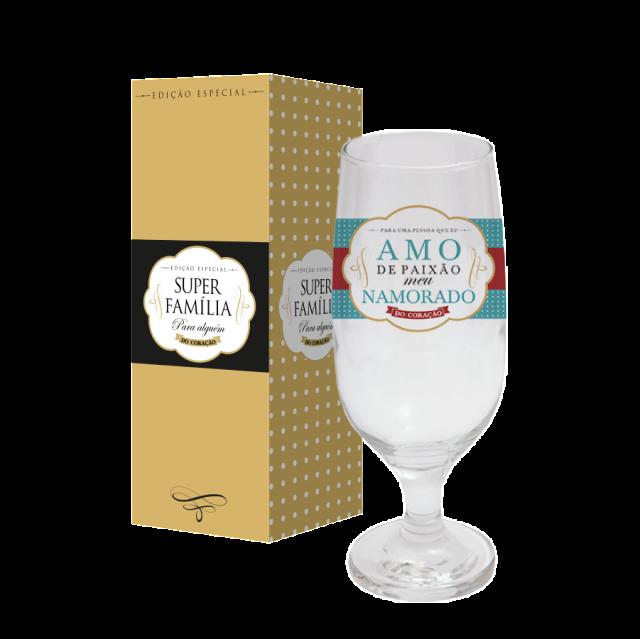 Taça de Cerveja 300ml - Namorado Paixão